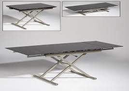 Adjustable Side Table Adjustable Height Coffee Table And Plus Trunk Coffee Table And