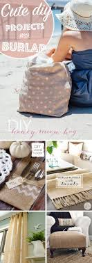ways how burlap decorations can beautify your home with a dash of