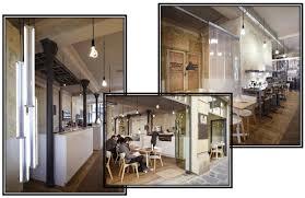 french industrial pendant lighting minimalist pendant ls in a french industrial café blog