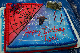 spiderman birthday cakes for kids party themes inspiration