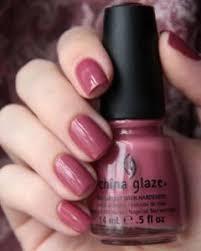 dusty china china glaze fifth avenue dusty pink creme nail
