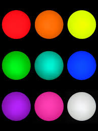 glow balls 70mm and 100mm led