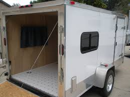 Diy Hard Floor Camper Trailer Plans My Cargo Camper Conversion