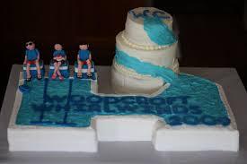 baker u0027s cakes baby shower cake and swim team cake