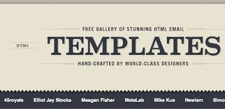 100 completly free html email templates inbox junky