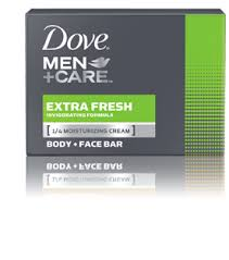 Dove Clean Comfort Bar Soap Extra Fresh Bar Soap For Men Dove Men Care Your Body Is A