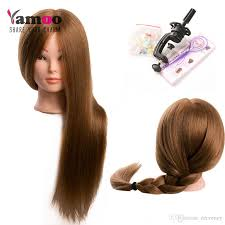 hairstyles with body wave hairnfor 60 training head for 60 real human hair hairdressing mannequin dolls