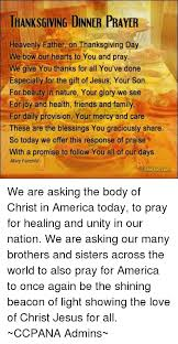 thanksgiving dinner prayer heavenly on thanksgiving day e