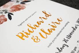 Gold Foil Wedding Invitations Beautiful Peonies Wedding Invitation Be My Guest
