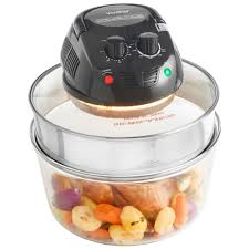 vonshef halogen oven convection black premium 12 litre kitchen