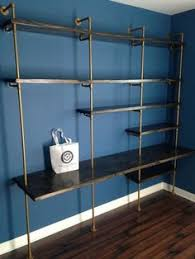 Industrial Shelving Units by Industrial Pipe Shelving Unit Pipe Shelf Pipe Bookcase Pipe