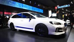 subaru wagon 2014 2014 tokyo auto salon subaru levorg sti concept previews