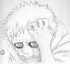 gaara crying sketch by rollinghair on deviantart