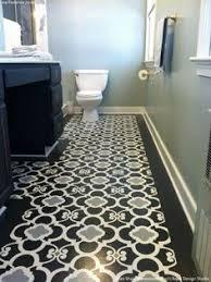 Diy Bathroom Floor Ideas Your Tile Floors Paint Them Painted Tiles Tile Flooring