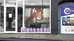 Store Window Design Rear Projection Shop Windows Display Go Mobile Cookstown Youtube