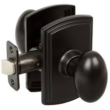 home depot blines black friday delaney italian collection canova black hall and closet knob 501t