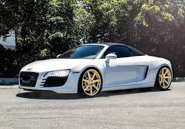audi r8 gold gallery niche wheels