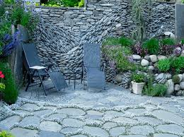 Building Stone Patio by The Art Of The Dry Stack Stone Wall U2022 Nifty Homestead