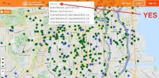San Francisco Maps by Planning Debuts Awesome Map Of Every Project Proposed In Sf
