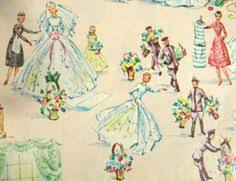 wedding gift wrapping paper vintage gift wrapping paper beautiful brides and bridesmaids