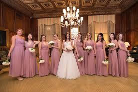 dusty wedding dress brides bridesmaids photos bridesmaids in dusty dresses