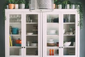 cheap glass kitchen cabinet doors guest post how to style your kitchen with glass door