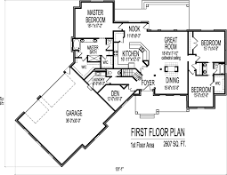 House Floor Plans 2000 Square Feet 2000 Square Foot House Plans Two Storyfoothome Plans Ideas Picture