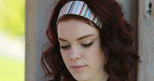cloth headbands shop 2 fabric headbands soft elastic back bands in