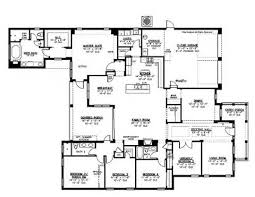 five bedroom home plans one five bedroom home plans homepw72132 4 457