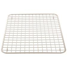 Kitchen Sink Protector by Amazon Com Interdesign Gia Kitchen Sink Protector Wire Grid Mat