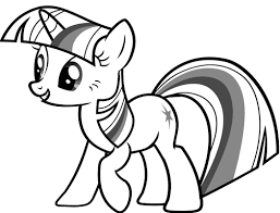 twilight sparkle coloring pages pony twilight sparkle
