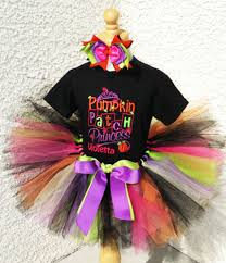 Pumpkin Princess Halloween Costume Halloween Bootique Baby Halloween Tutus