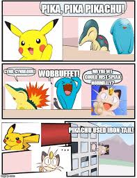 Board Meeting Meme - pokemon boardroom meeting imgflip