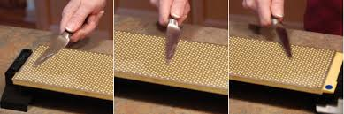 step by step knife sharpening