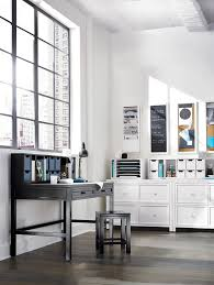 a sleek modern craft space homedecorators com storeeverything