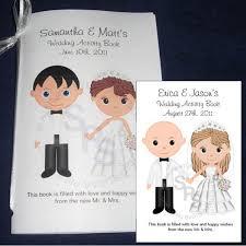 printable personalized wedding activity book custom 8 5x 5 5 favor