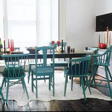 Teal Dining Table Colorful Dining Room Sets And Formidable Colorful Dining
