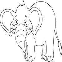 elephant coloring pages surfnetkids