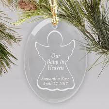 baby in heaven engraved ornament giftsforyounow