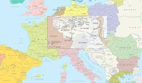 Map Size Comparison Middle Earth Compared In Size To Europe Https 31 Media