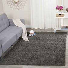 Solid Grey Rug Large Area Rug Grey Shag Dark Carpet Indoor Casual Living Room