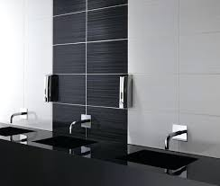 black white bathroom tiles ideas black wall tiles bathroom toberane me