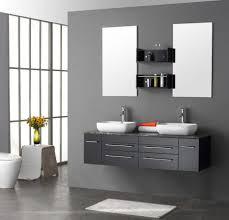 interior sophisticated small area rug plus square vessel sinks