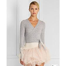wrap sweater top ballet inspired fashion ballet neck tops wrap sweaters polyvore