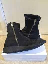 s suede boots size 9 rick owens blistered combat boots size 9 480 grailed grailed