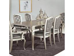 contemporary mirrored dining room set jessica mcclintock couture