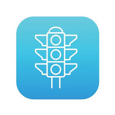 Traffic Light Order Traffic Light Line Icon Premium Clipart Clipartlogo Com
