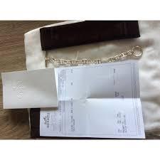 siege hermes hermès chaine d encre bracelet bracelets silver silvery ref 51246