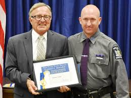 shaun smith home ny state trooper honored for saving 12 year old boy at swimming