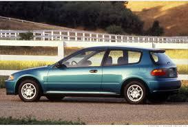 1995 honda civic hatchback 10 most fuel efficient cars since 1984 8 1994 1995 honda civic